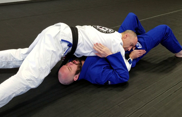 Brazilian Jiu-Jitsu North-South Position