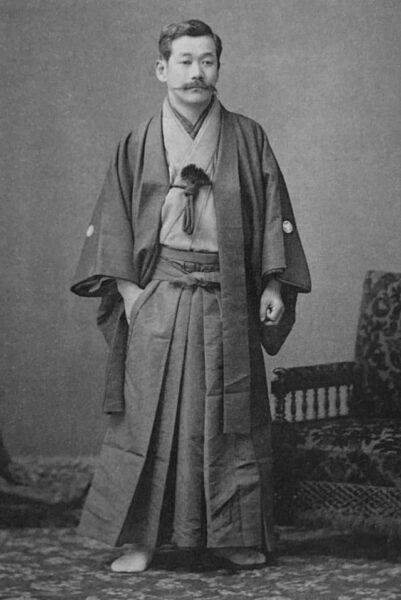 Shihan Jigorō Kanō - Circa 1892