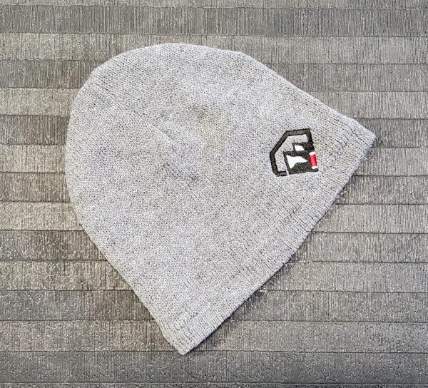 Black Diamond BJJ Embroidered Logo Gray Beanie Cap